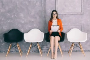 woman studying 3 most important interview questions