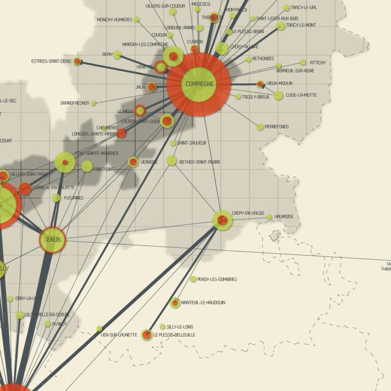 Mobilités projet MAGEO - Guillaume Sciaux - Cartographe professionnel