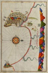 La forteresse d'Alanya - Guillaume Sciaux - Cartographe professionnel