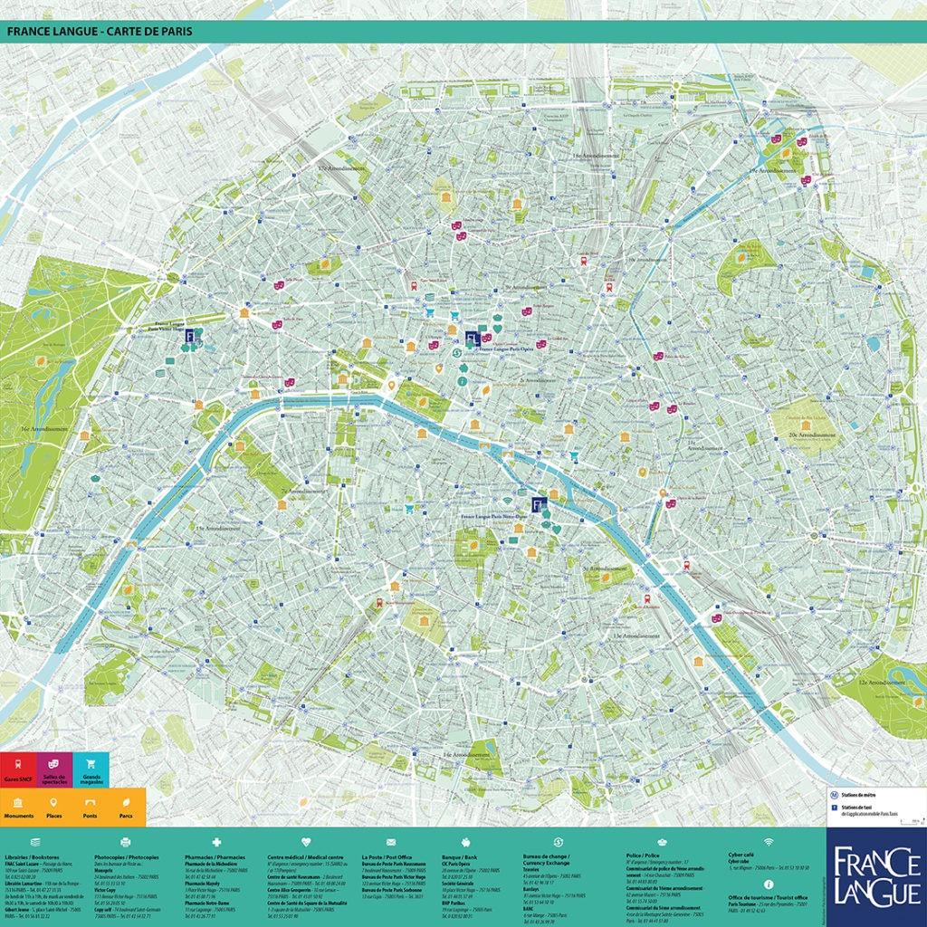 Plan de Paris - Guillaume Sciaux - Cartographe professionnel