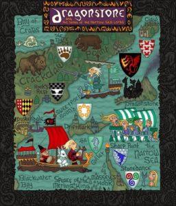 Game of Thrones - Carte moyen age (10) - Dragon Stone - Guillaume Sciaux - Cartographe professionnel