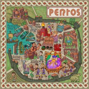 Game of Thrones - Carte moyen age (13) - Pentos - Guillaume Sciaux - Cartographe professionnel