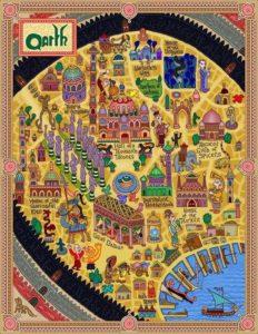 Game of Thrones - Carte moyen age (19) - Qarth - Guillaume Sciaux - Cartographe professionnel