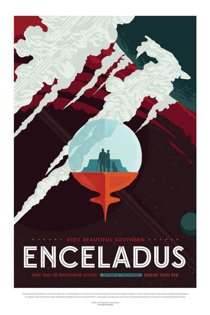 Voyage vers Encelade - Guillaume Sciaux - Cartographe professionnel