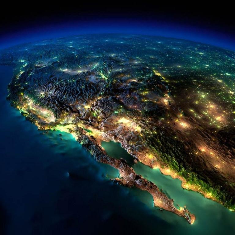 La Terre illuminée (7) - Guillaume Sciaux - Cartographe professionnel