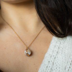 Collier perle de nacre