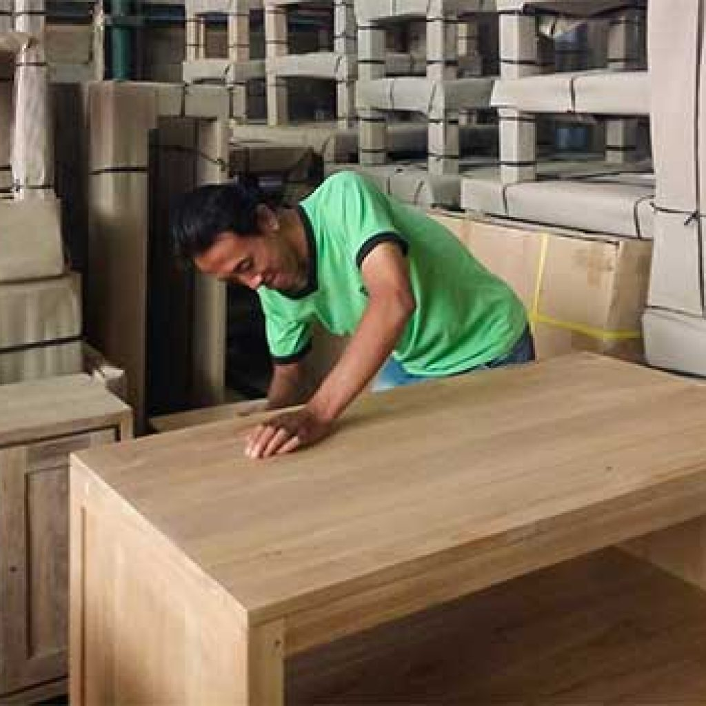 fabricant de meubles en teck massif