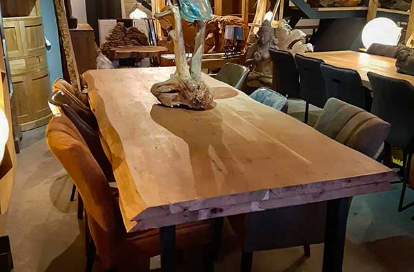 mobilier teck massif