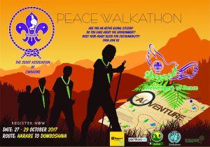 Scouts Peace Walkathon