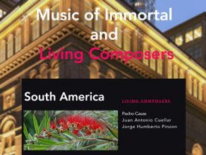 Pacho Casas es parte de Music of Immortal and  Living Composers