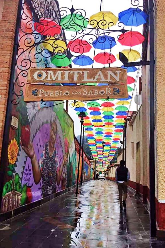 # Gallery: Omitlán, Town with a Taste of Hidalgo, fills with color