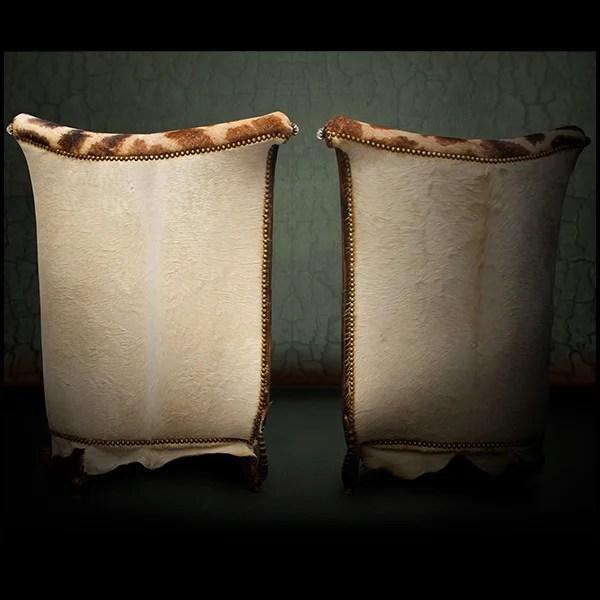 Table Haute Avec Pieds En Acier Bross Et Plateau En Teck