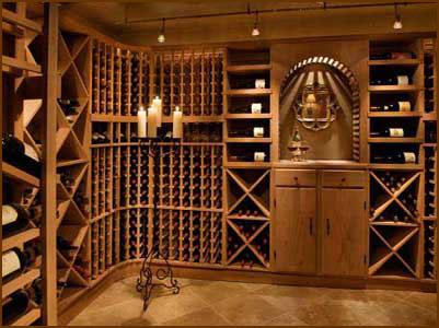 wood metal wine rack plans for custom wine cellars