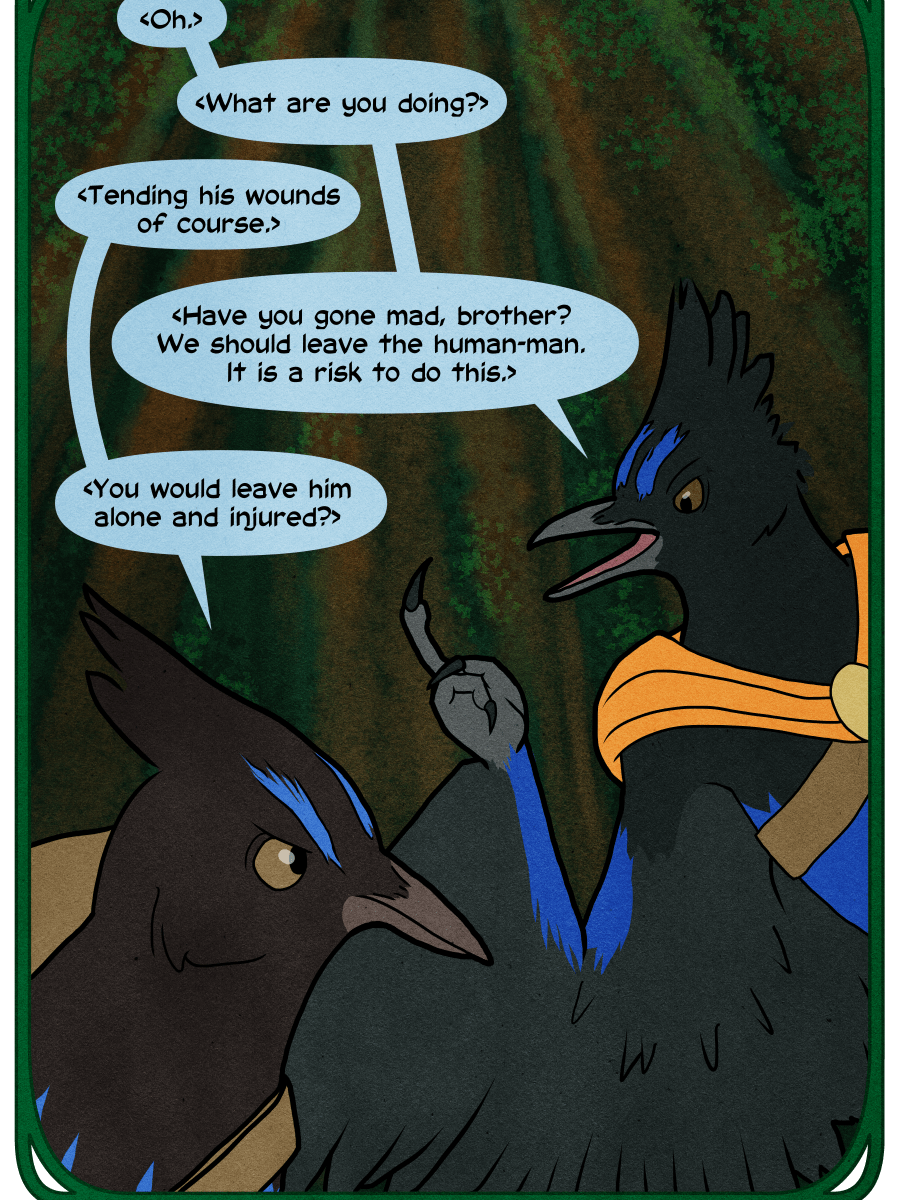 Zephyr and Gale have a disagreement about how to handle Gavin.
