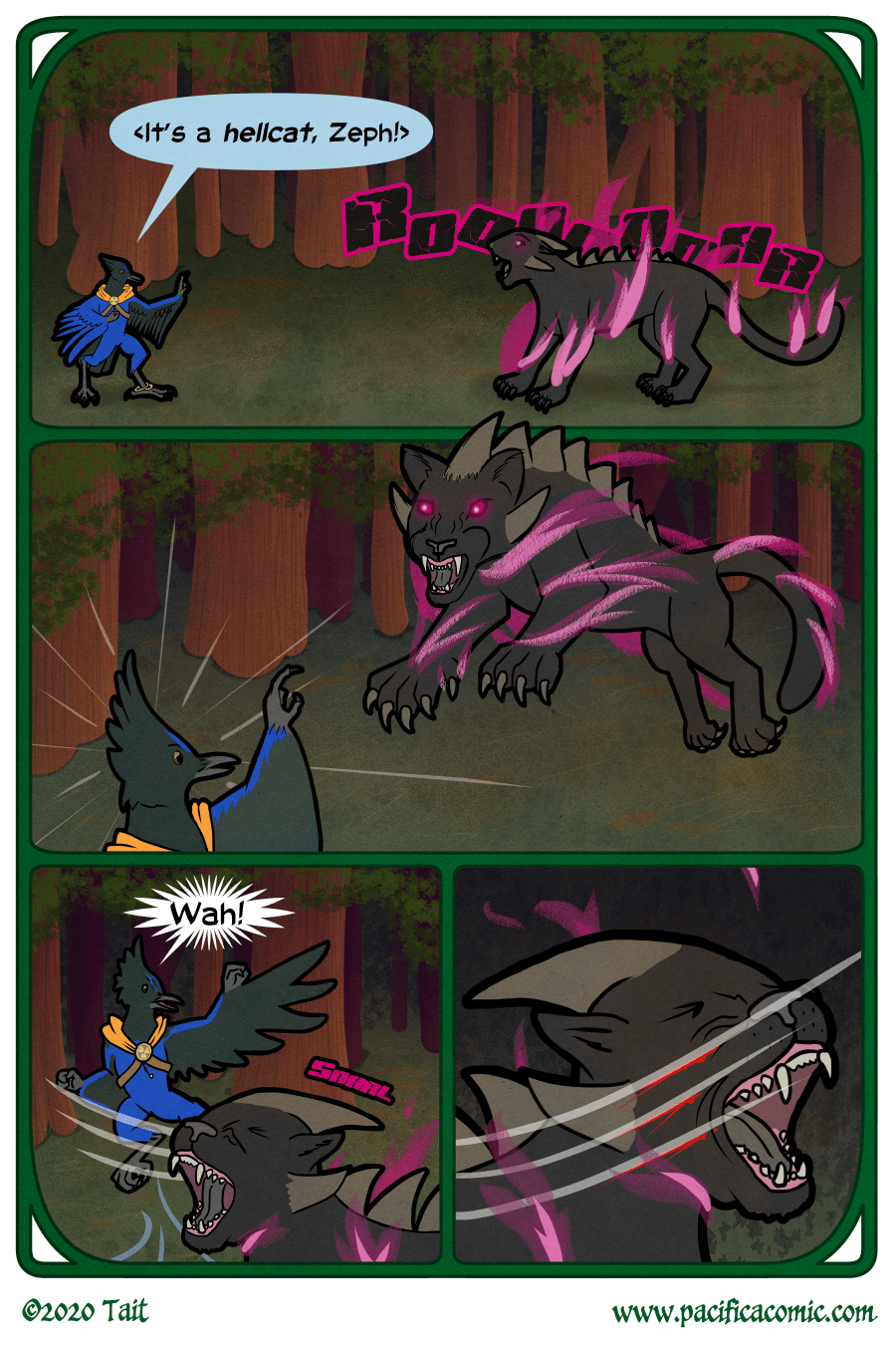 Birds, Page 5, Gale vs Hellcat (Part 1)