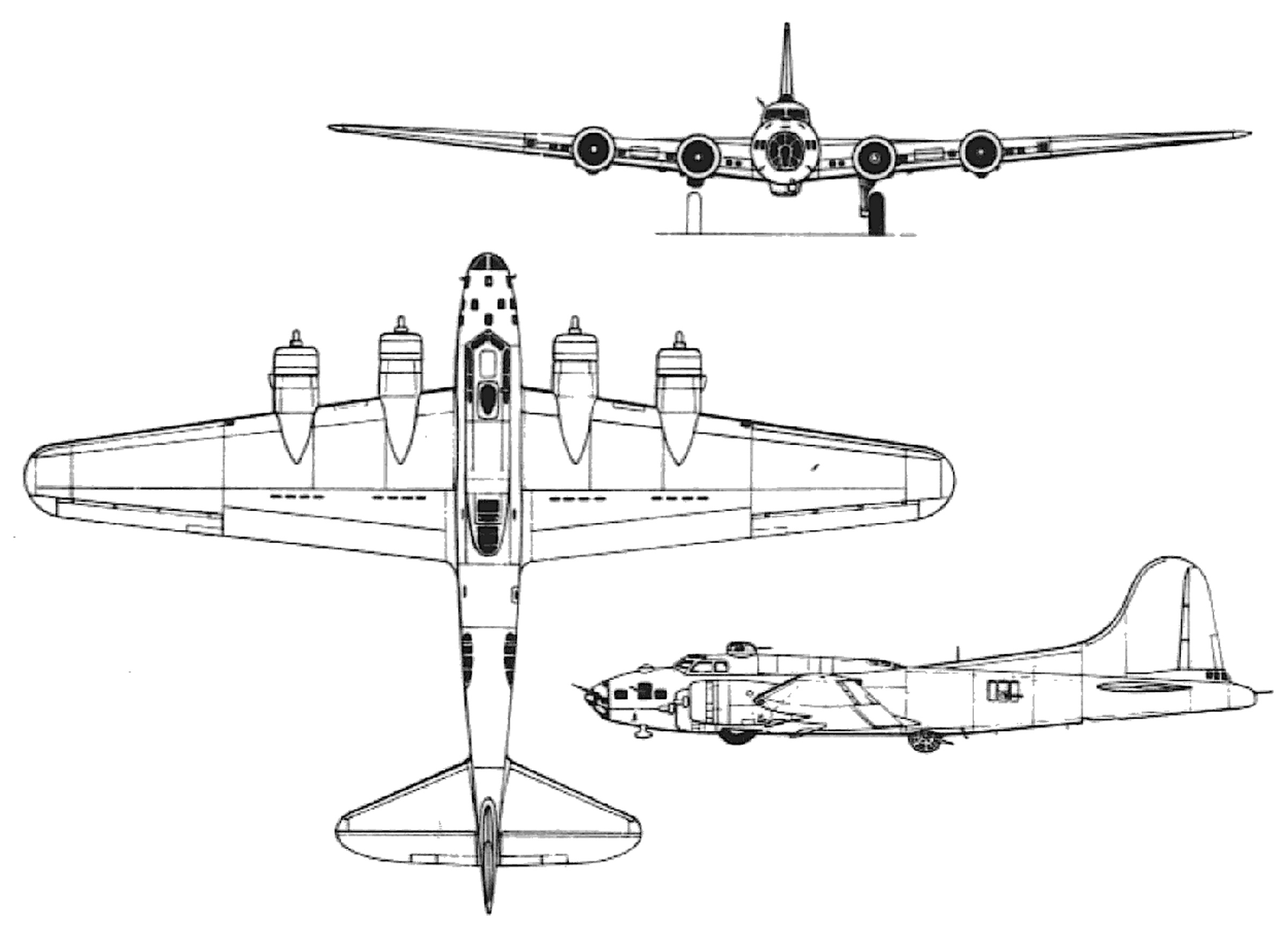 Boeing B 17e Flying Fortress