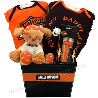 Harley Davidson Baby Gift Baskets Vancouver Canada