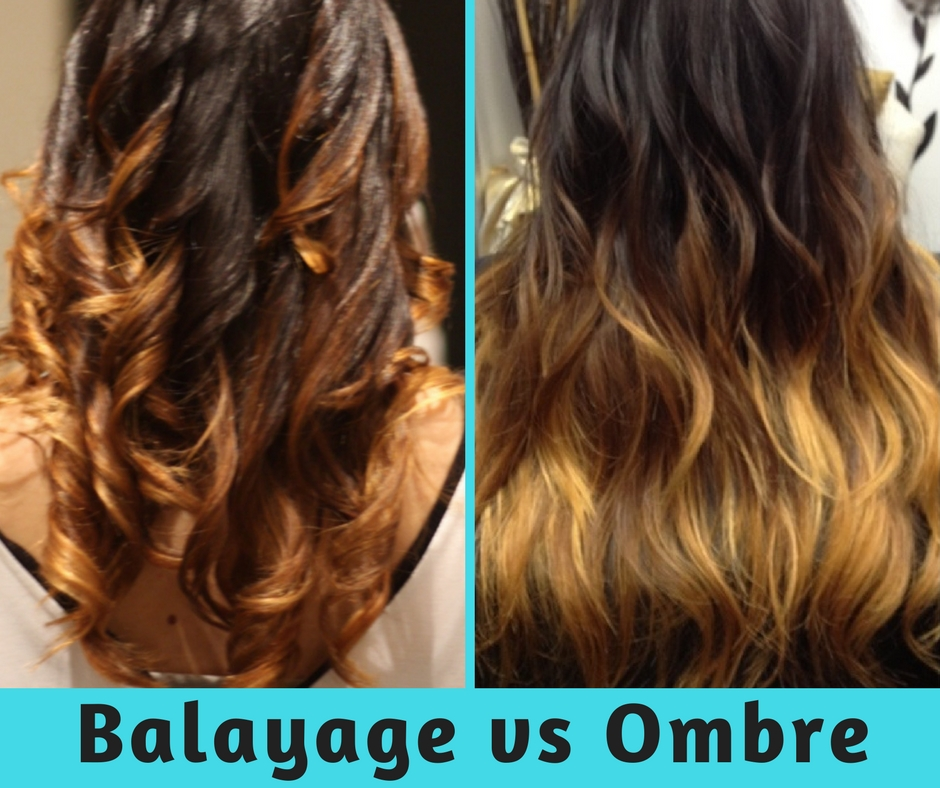 Balayage Vs Ombre What is Balayage? What is Ombre?