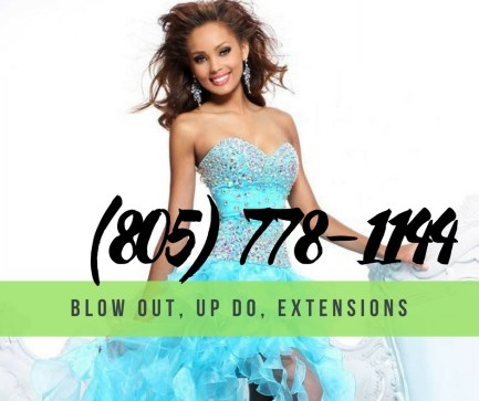 prom hair salon thousand oaks ca with phone number