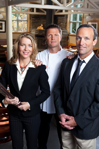 photo: restaurant managers and chef | Pacific Coast Hospitality, restaurant recruitment