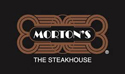 logo: Mortons — The Steakhouse | Pacific Coast Hospitality client