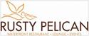 logo: Rusty Pelican | Pacific Coast Hospitality client