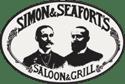 logo: Simon & Seaforts Saloon & Grill | Pacific Coast Hospitality client