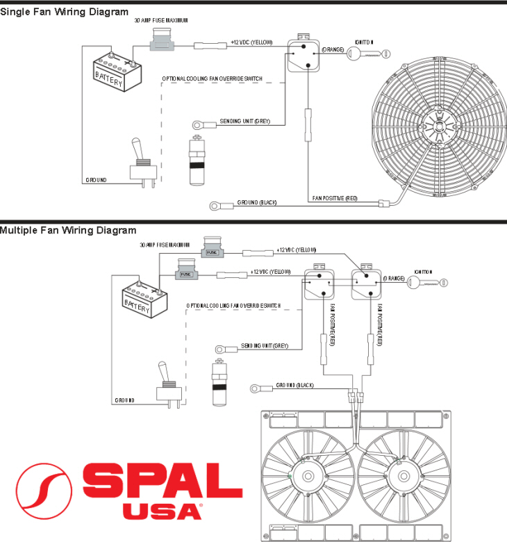 spal power window wiring diagram