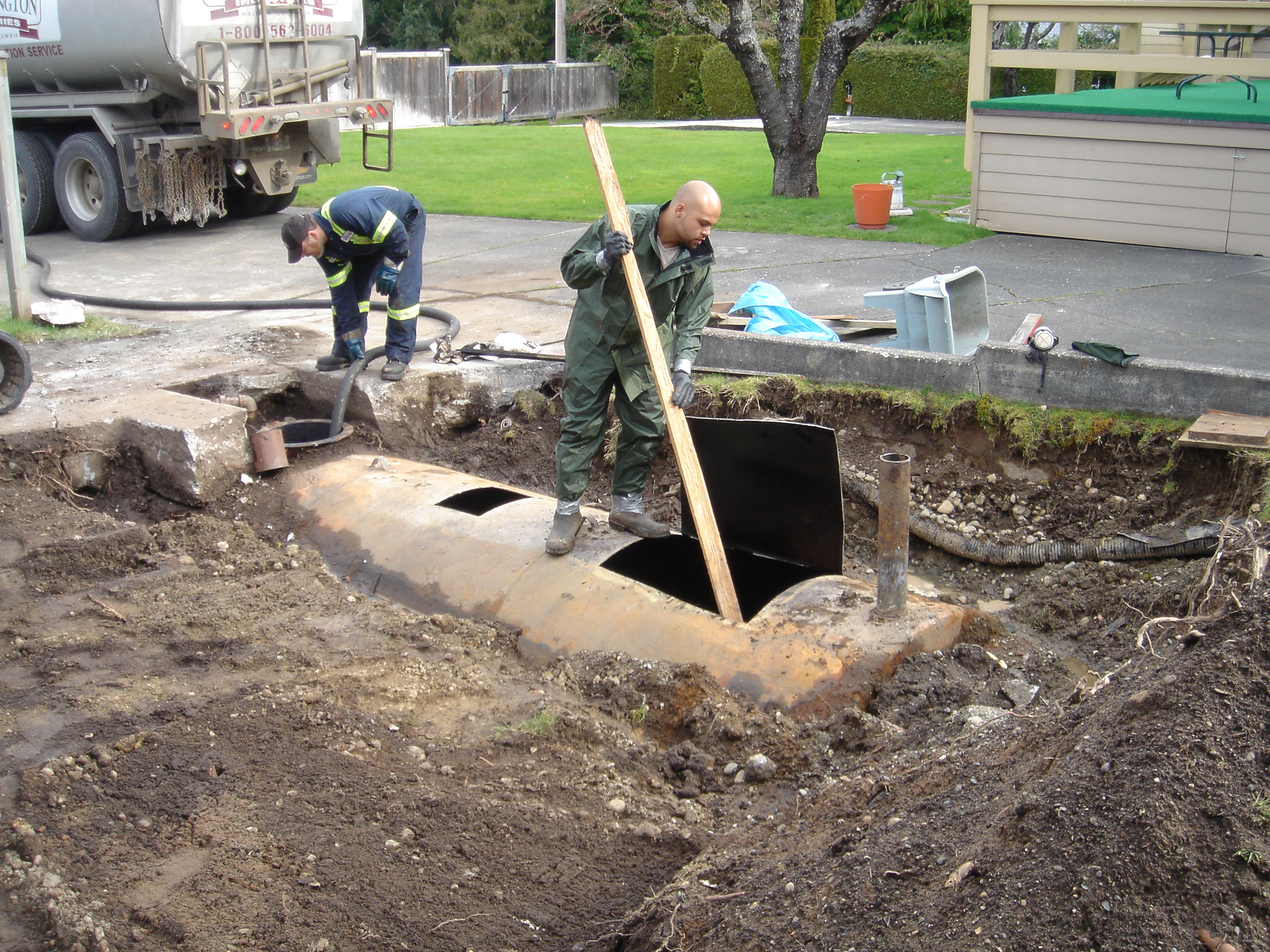oil tank removal burnaby