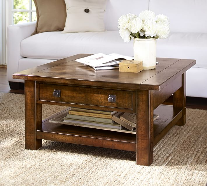 benchwright square coffee table costa