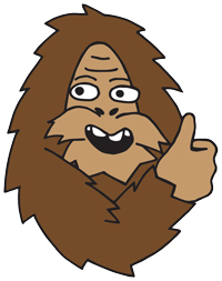 Sasquatch says: