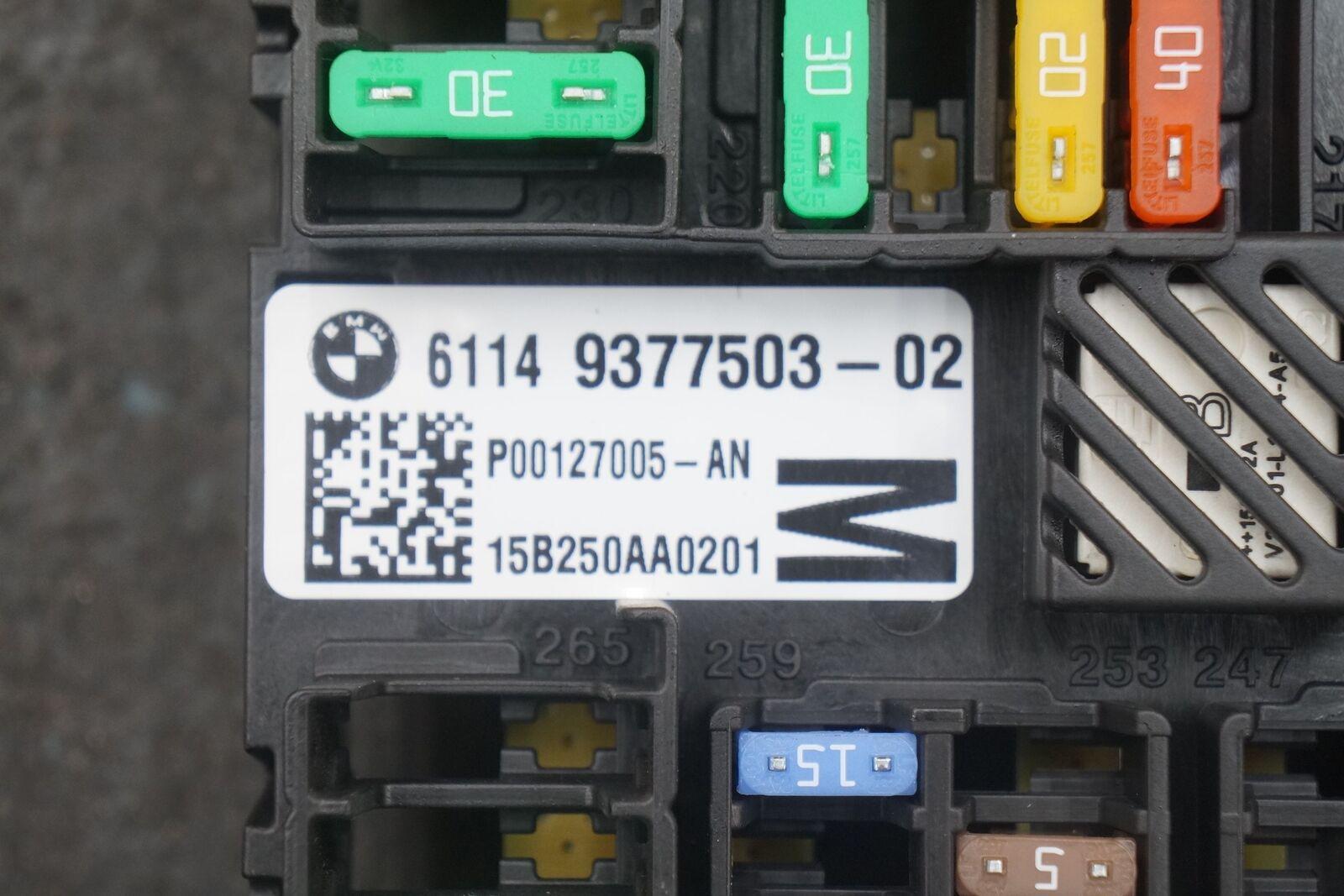 Rear Power Distribution Fuse Box Block 61149377503 Bmw 750i 740i G11