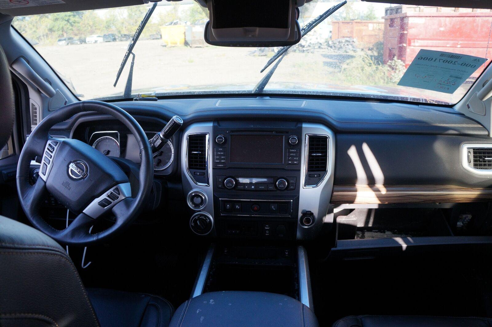Set Rear Left Door Pillar ... & Set Rear Left Door Pillar Post Trim Panel 76914EZ24A Nissan Titan XD ...