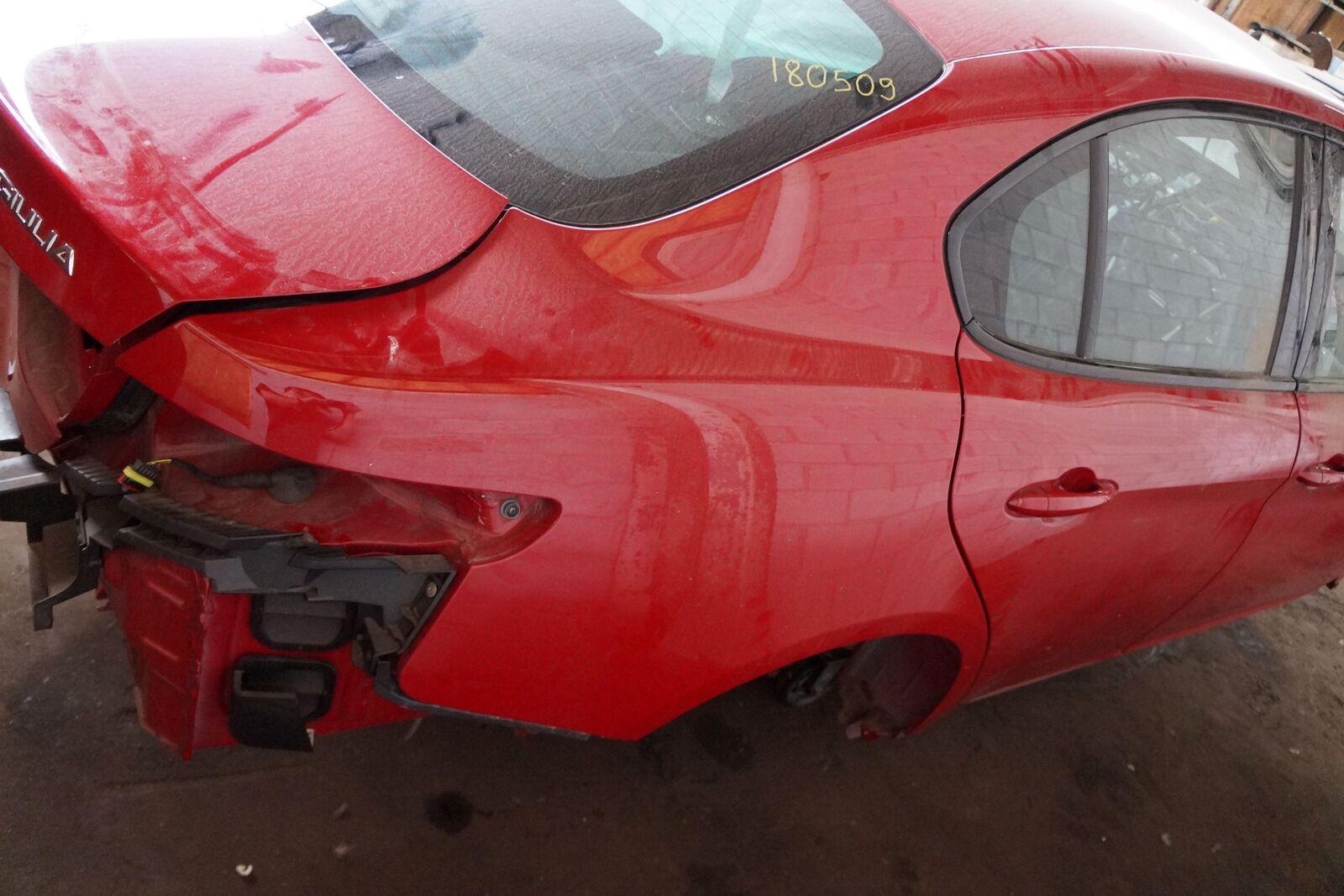 Rear Right Quarter Panel Structural Metal Body Cut OEM Alfa Romeo - Alfa romeo body panels