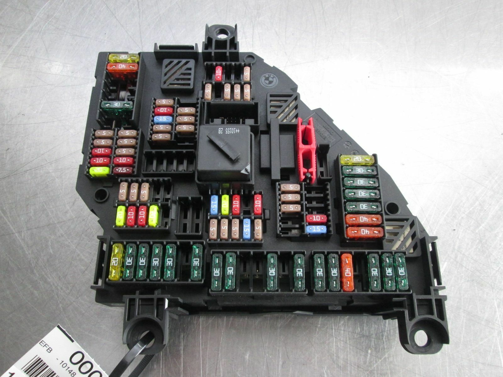 Rear Trunk Power Distribution Fuse Box 61149210857 BMW 750 F01 ...