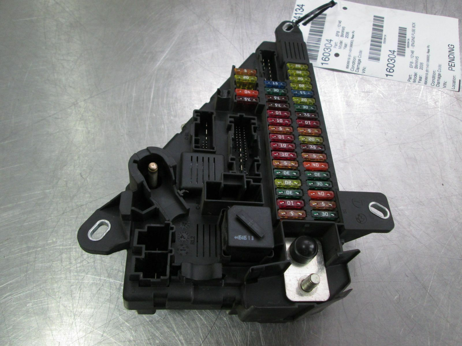 M5 Fuse Box 2006 Bmw Wire Diagrams Rear Power Distribution 61149138830 E60 09 2008