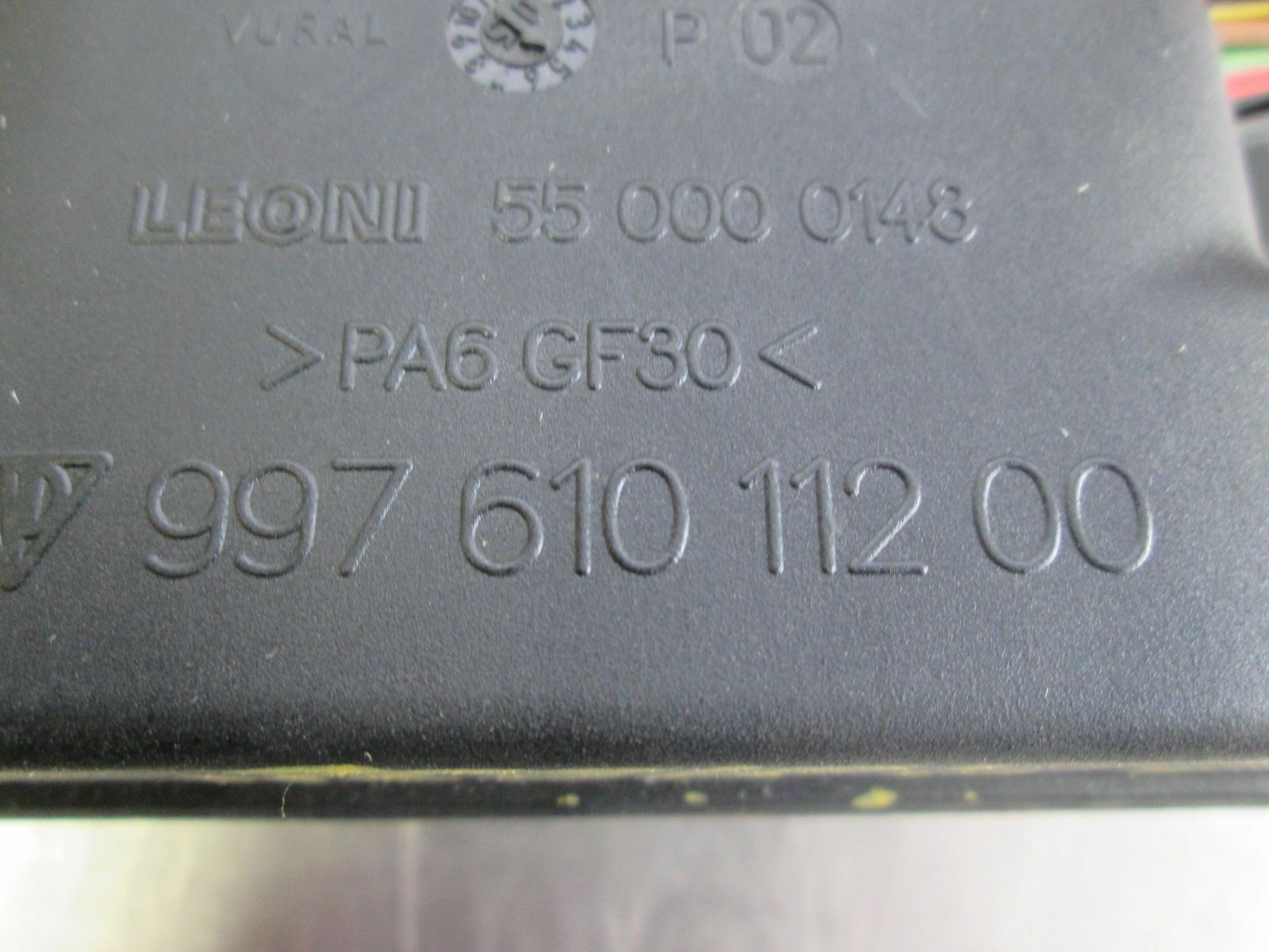 front dash fuse box relay junction block 99761011000 porsche 911