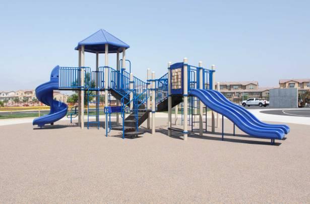 School playground equipment for Chula Vista's Saburo Maraoka Elementary School
