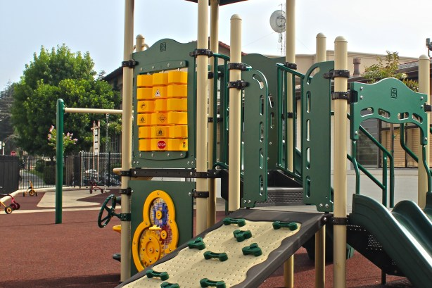 San Gabriel Mission School playground