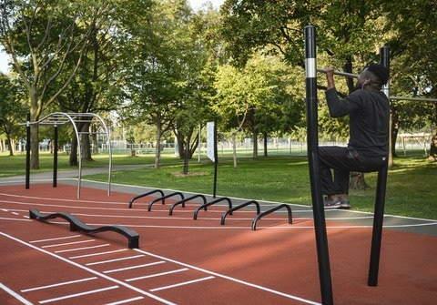 Outdoor Fitness Circuit