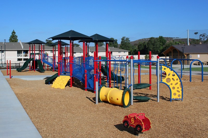Connors Park age appropriate playground equipment