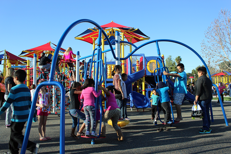 Margarita Park Riverside County playground equipment