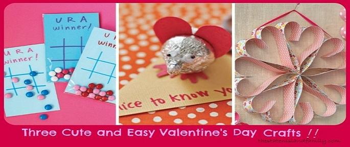 simple Valentine's Day activities with preschool