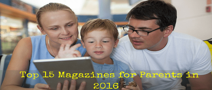 Top magazines for Parents
