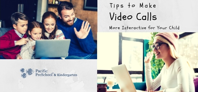 How to make video calls more interactive for your child