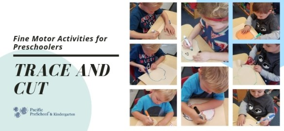 Fine Motor Activities - Trace and Cut