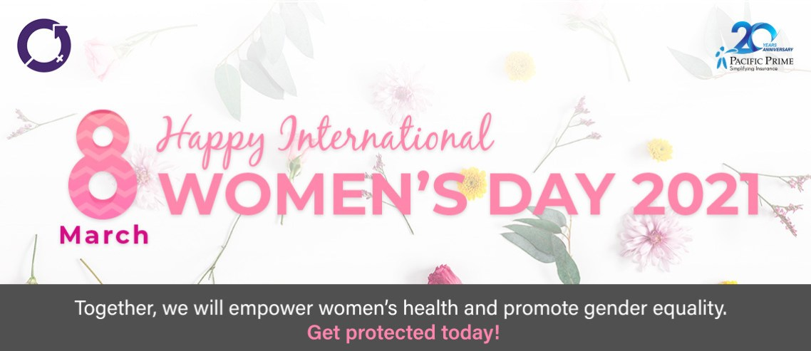 Happy International Women's Day Banner