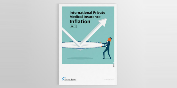 Cover of the 2017 medical insurance inflation report