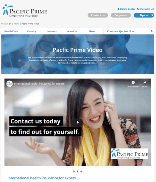 Introducing Pacific Prime's new video page!
