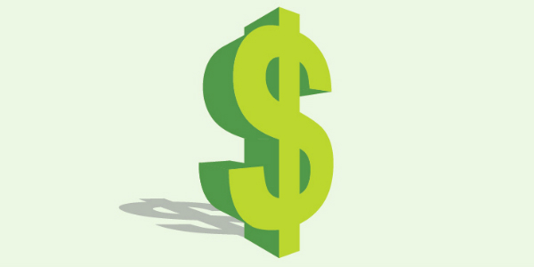 Dollar sign which indicates health insurance premiums